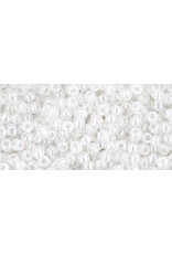 Toho 141 11  Round 6g Ceylon Snowflake White