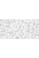 Toho 141 11 Toho Round 6g Ceylon Snowflake White