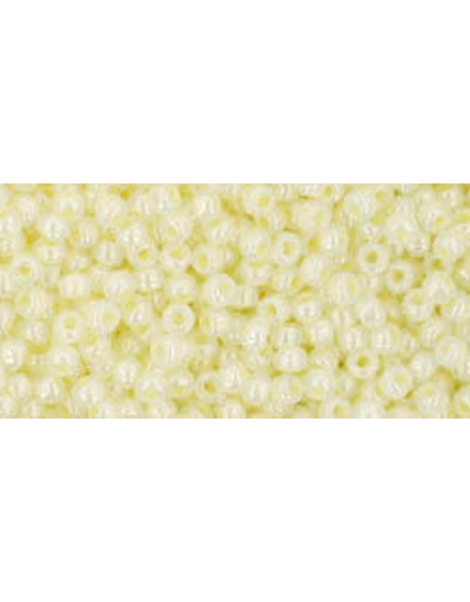 Toho 142B 11  Round 40g Ceylon Banana Yellow