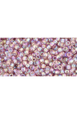 Toho 166 11  Round 6g Transparent Light Amethyst Purple AB