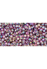 Toho 166b 11  Round 6g Transparent Medium Amethyst Purple AB