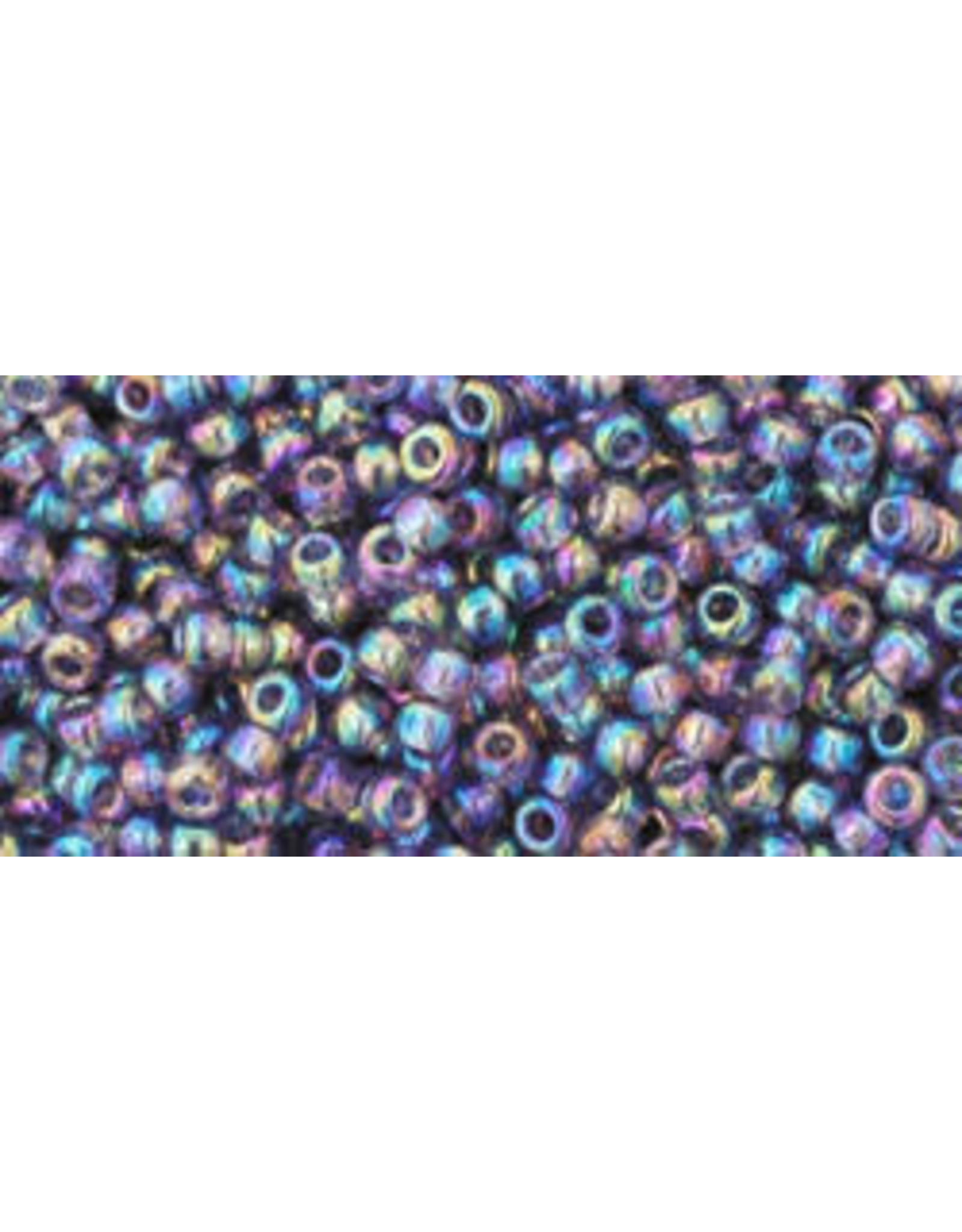 Toho 166d 11 Toho Round 6g Transparent Sugar Plum Purple AB
