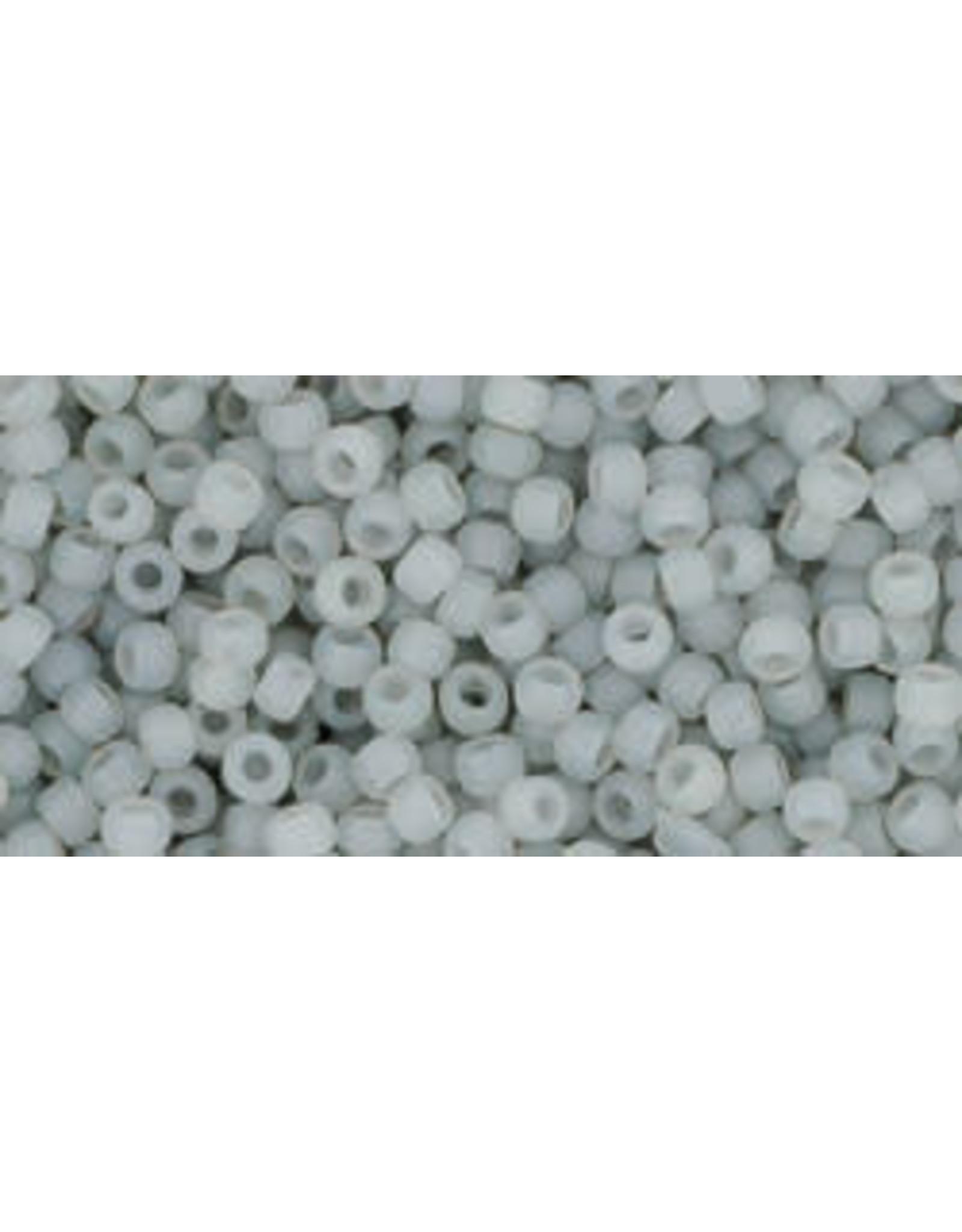 Toho 150fB 11  Round 40g Ceylon Smoke Grey Matte