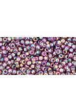 Toho 166bB 11  Round 40g Transparent Medium Amethyst Purple AB