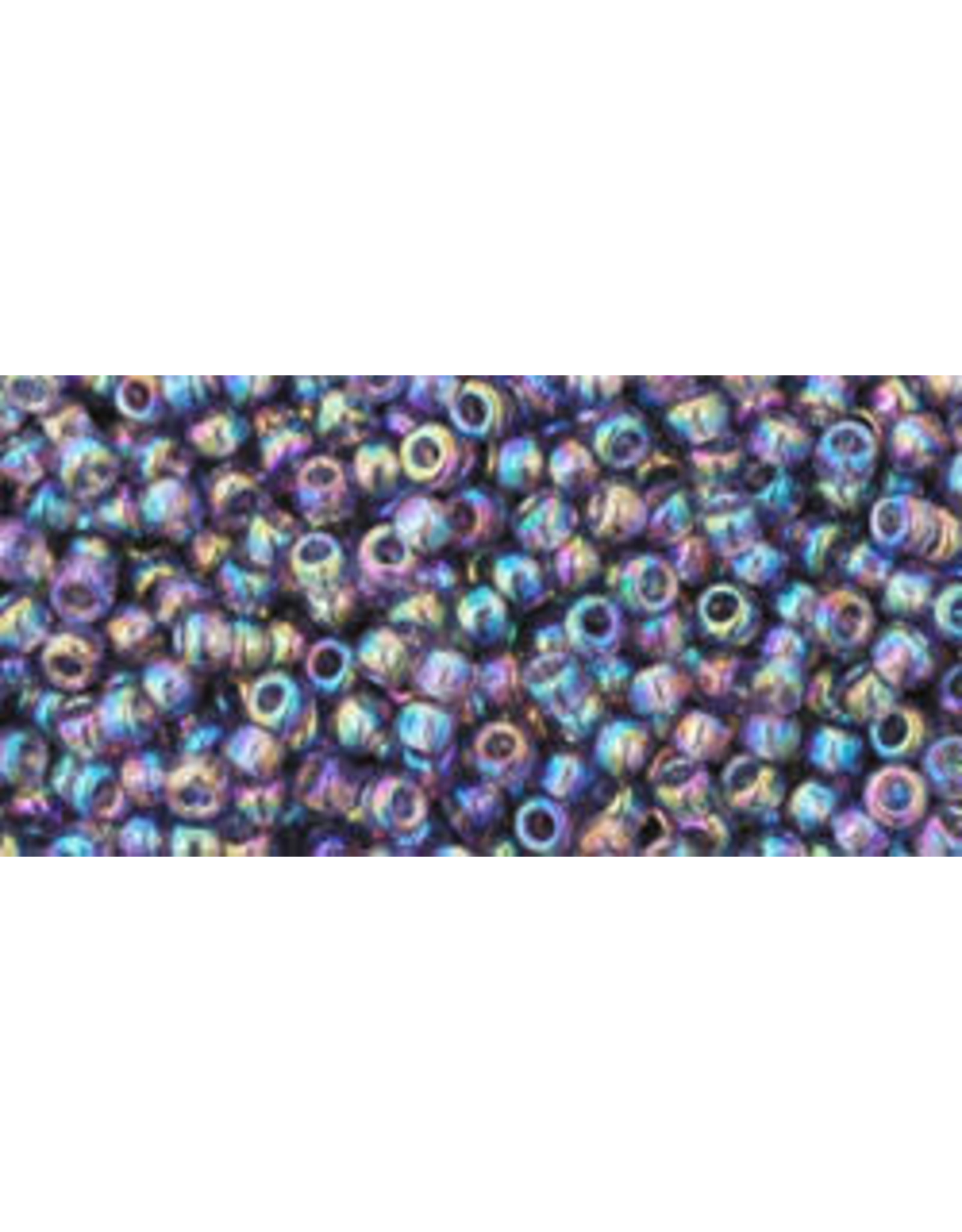 Toho 166dB 11  Round 40g Transparent Sugar Plum Purple AB