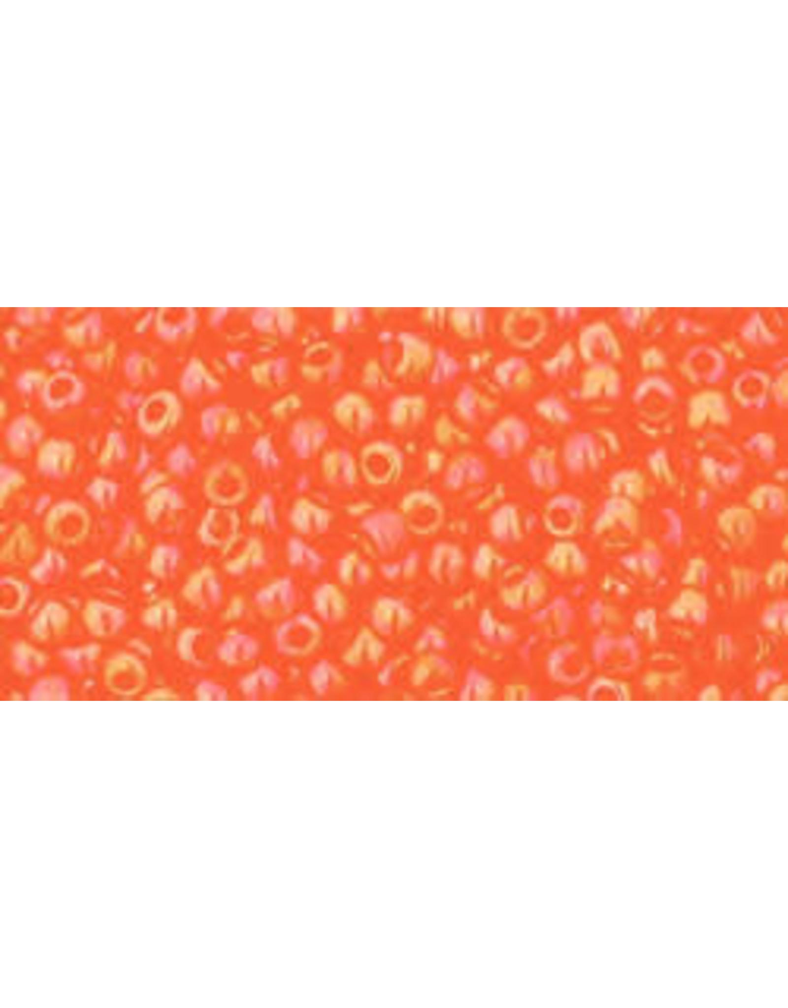 Toho 174b 11  Round 6g Transparent Hyacinth Orange AB