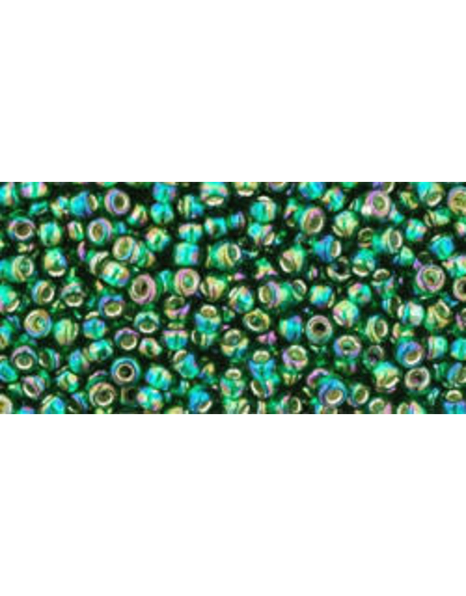 Toho 2036 11 Toho Round 6g Emerald Green AB s/l