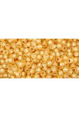 Toho 2110 11  Round 6g Light Topaz Brown Milky s/l