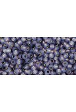 Toho 2124 11  Round 6g Lavender Purple Milky s/l