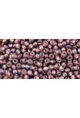 Toho 2114B 11  Round 40g Nutmeg Purple Milky s/l