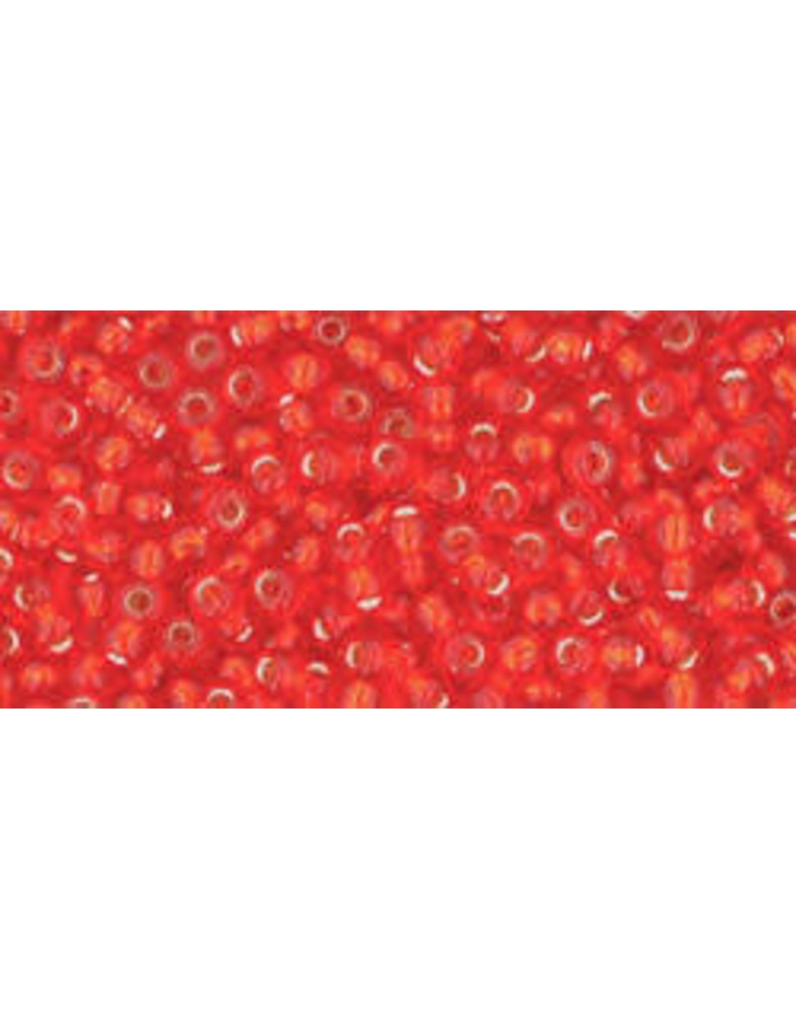 Toho 25 11  Round 6g Light Siam Ruby Red