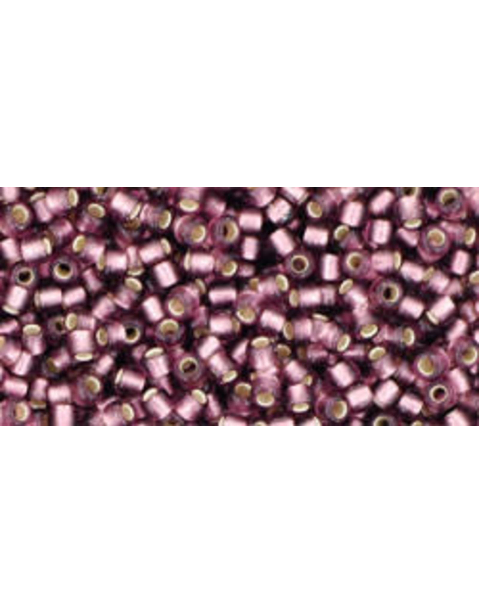 Toho 26bf 11  Round 6g Medium Amethyst Purple s/l Matte