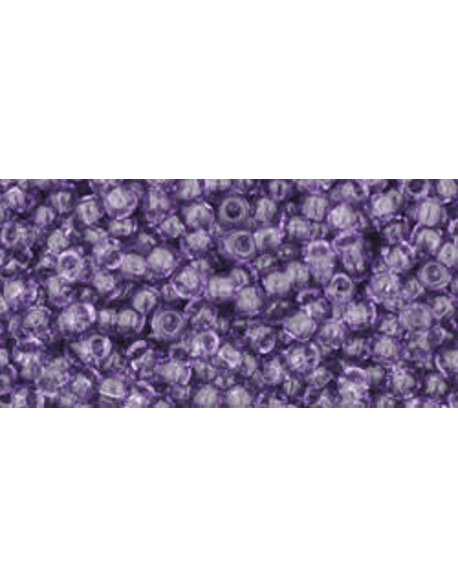 Toho 19B 11  Round 40g Transparent Sugar Plum Purple
