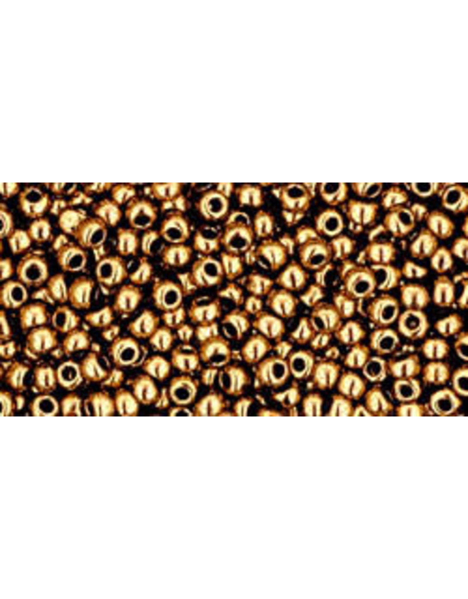 Toho 221B 11  Round 40g Bronze Brown Metallic