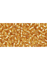 Toho 22bB 11  Round 40g Medium Topaz Brown s/l
