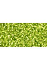 Toho 24B 11  Round 40g Lime Green s/l