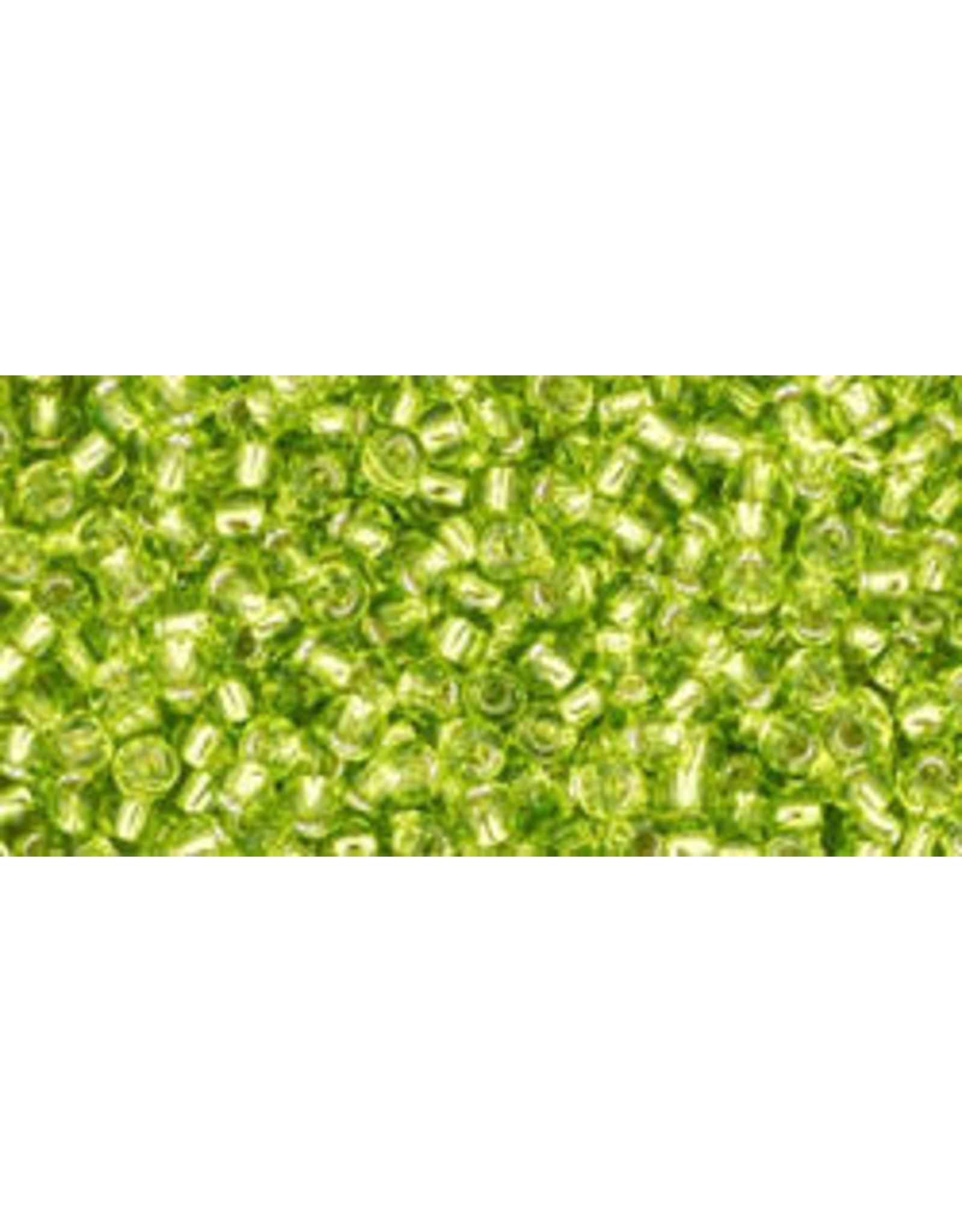 Toho 24B 11 Toho Round 40g Lime Green s/l