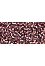 Toho 26bB 11  Round 40g Transparent Medium Amethyst Purple s/l