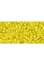 Toho 32B 11  Round 40g Lemon Yellow s/l