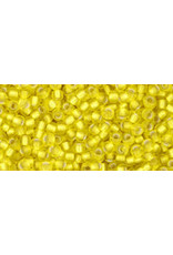 Toho 32f 11  Round 6g Lemon Yellow s/l Matte