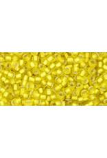 Toho 32f 11 Toho Round 6g Lemon Yellow s/l Matte