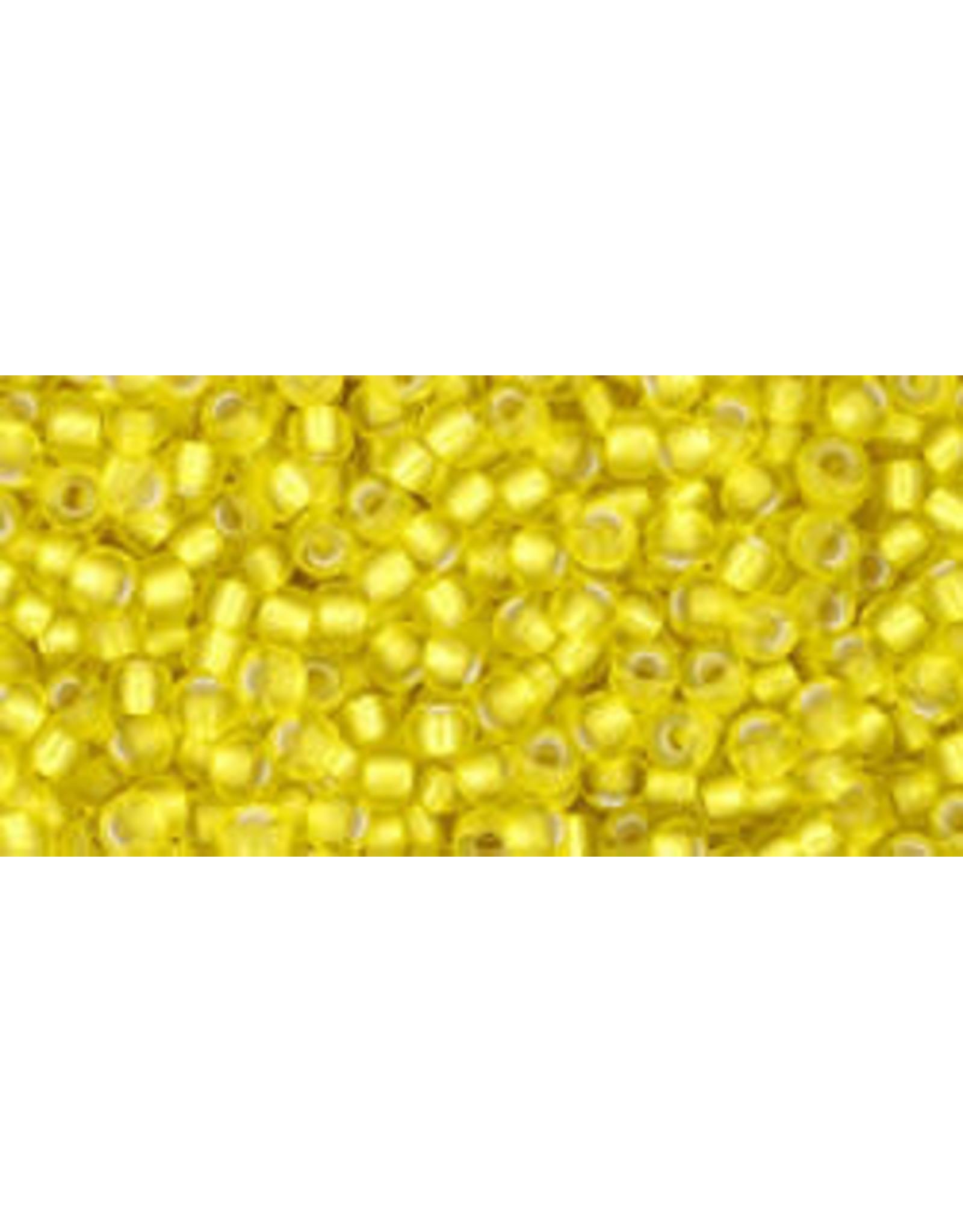 Toho 32fB 11 Toho Round 40g  Lemon Yellow s/l Matte