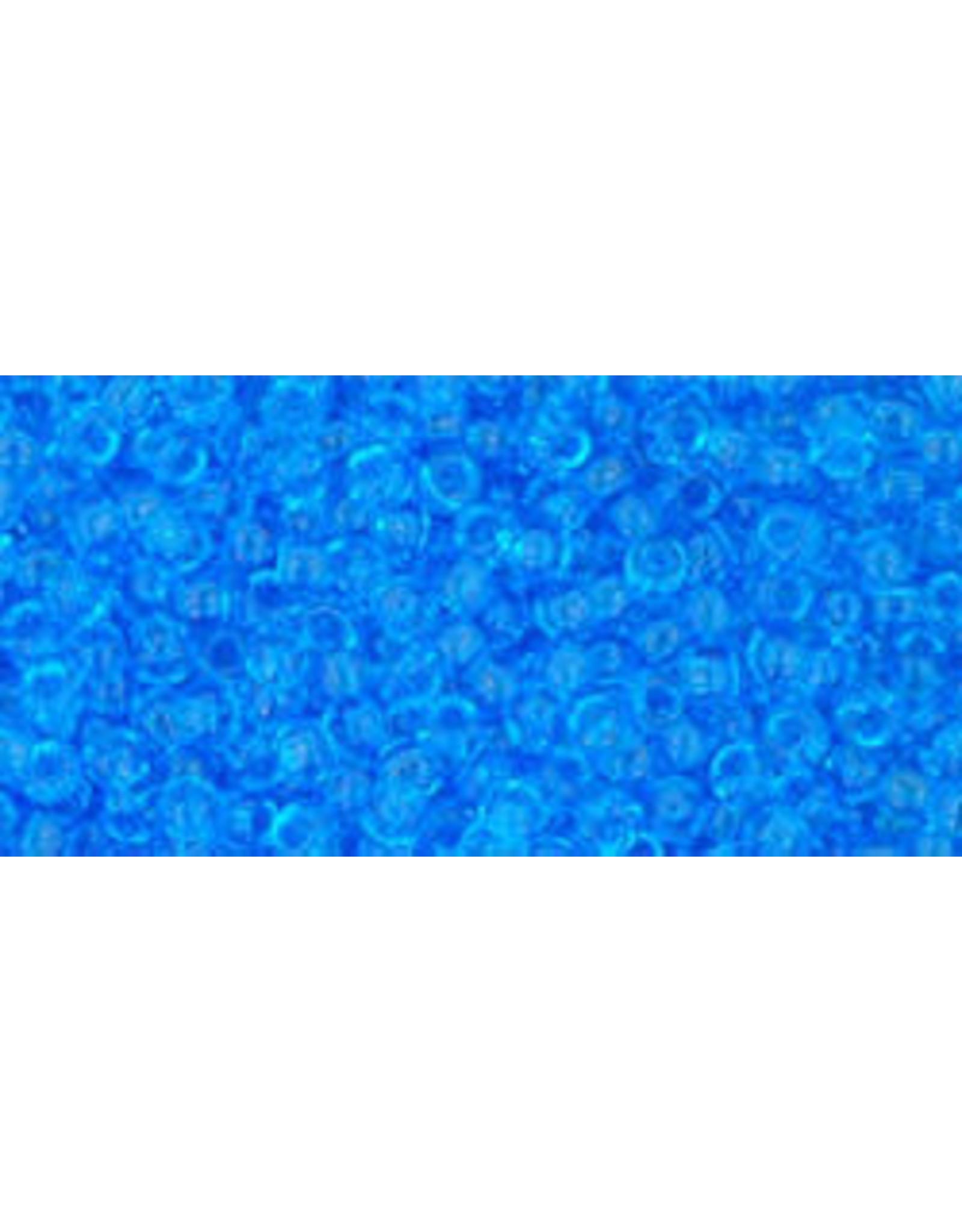 Toho 3b 11  Round 6g Transparent Dark  Aqua Blue