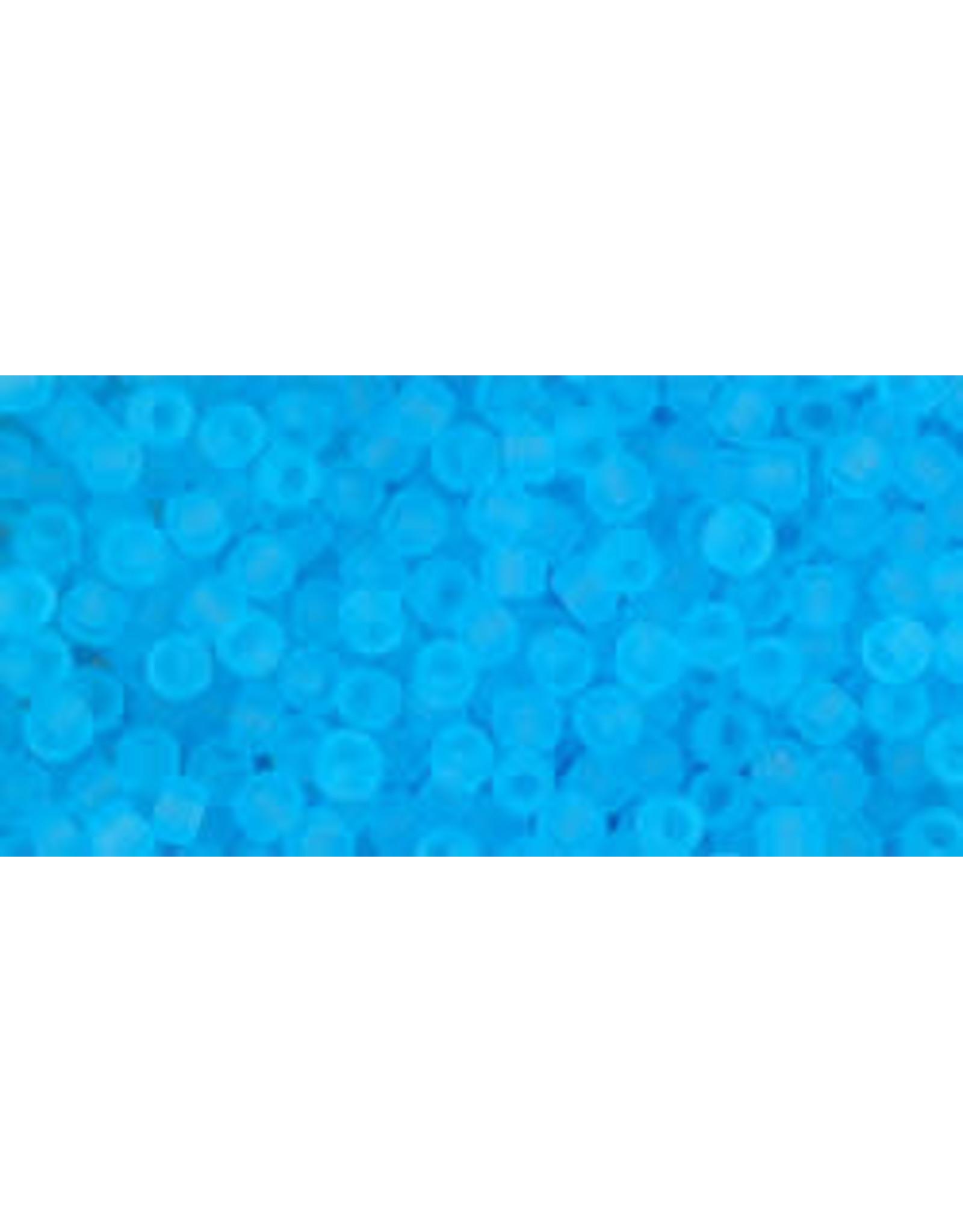 Toho 3f 11  Round 6g Transparent Aqua Blue Matte