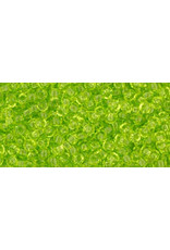 Toho 4 11 Toho Round 6g Transparent Lime Green
