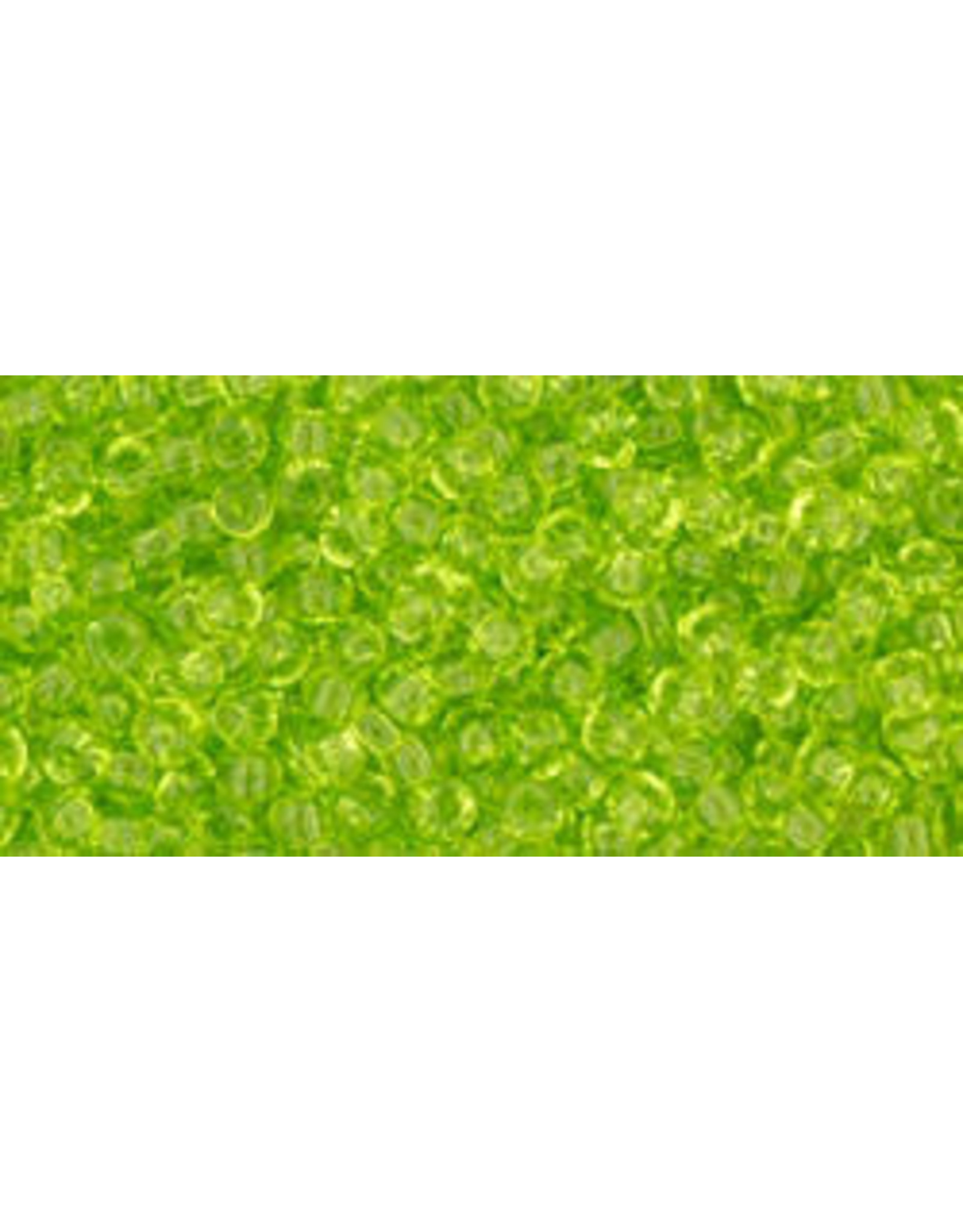 Toho 4B 11 Toho Round 40g Transparent Lime Green