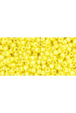 Toho 402 11  Round 6g Opaque Dandelion Yellow
