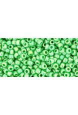 Toho 407 11 Toho Round 6g Opaque Mint Green AB