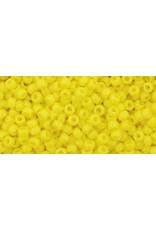 Toho 42 11  Round 6g Opaque Yellow