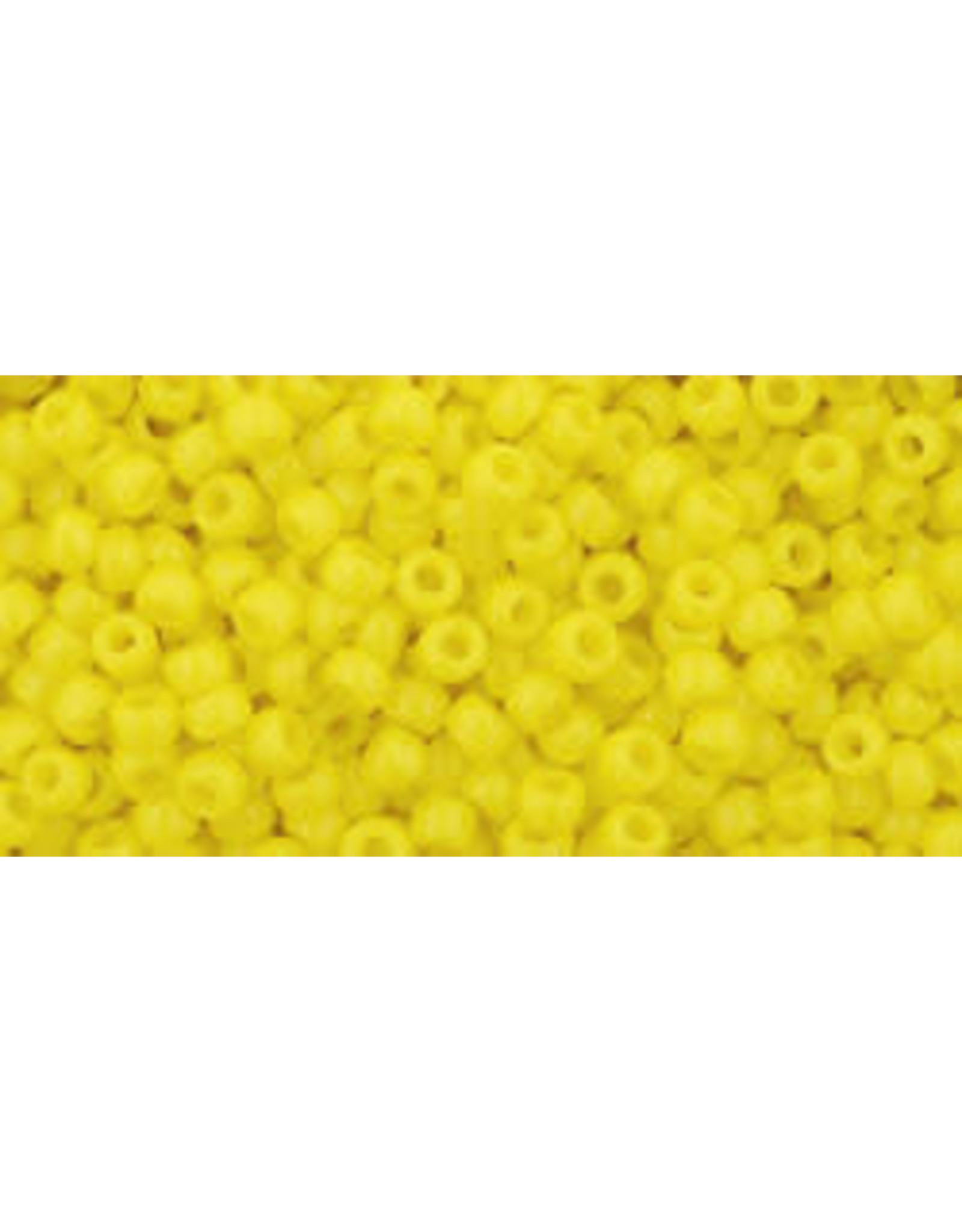 Toho 42 11 Toho Round 6g Opaque Yellow