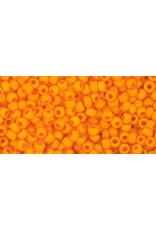 Toho 42dfB 11  Round 40g Opaque Cantalope Orange Matte