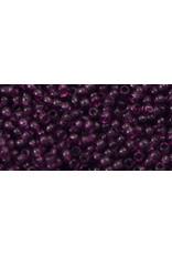 Toho 6b 11  Round 6g Transparent Medium Amethyst Purple