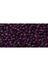Toho 6bB 11 Toho Round 40g  Transparent Medium Amethyst Purple