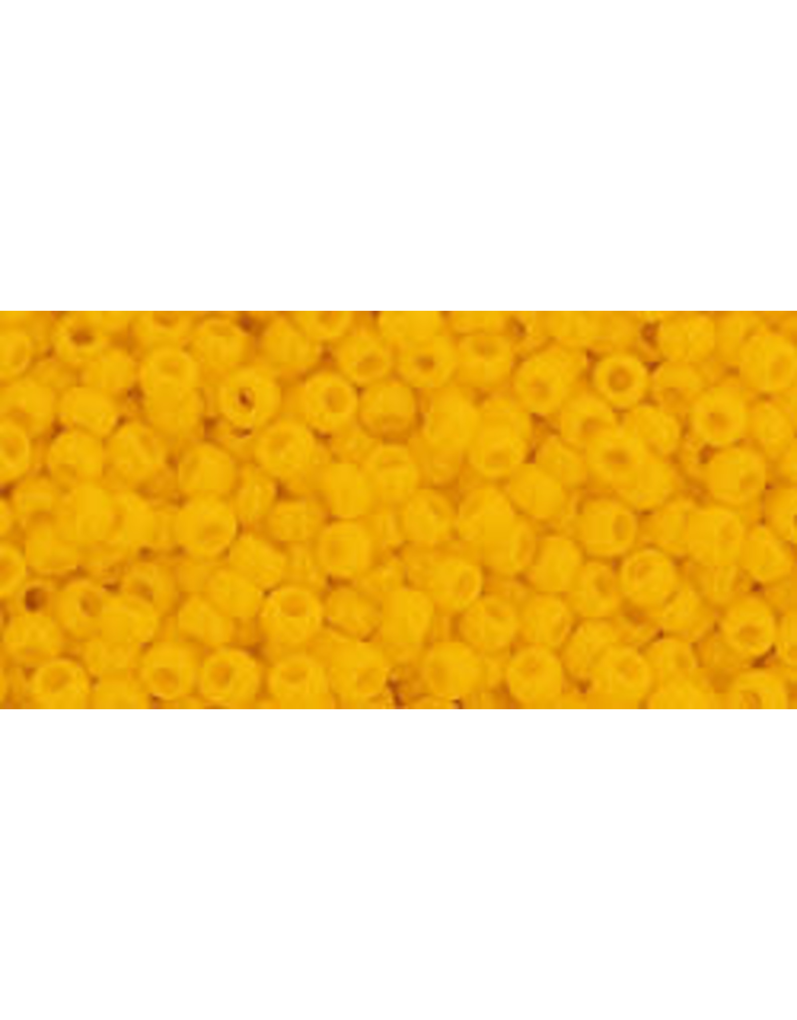 Toho 42bB 11 Toho Round 40g Opaque Dark Yellow