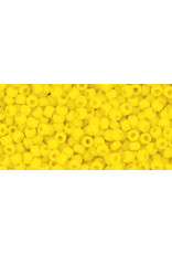 Toho 42bfB 11  Round 40g Opaque Dark Yellow Matte