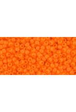 Toho 42d 11  Round 6g Opaque Light Orange