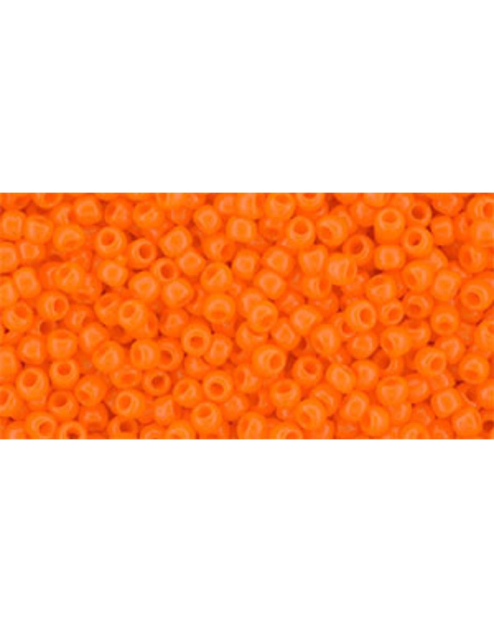 Toho 42dB 11  Round 40g Opaque Light Orange