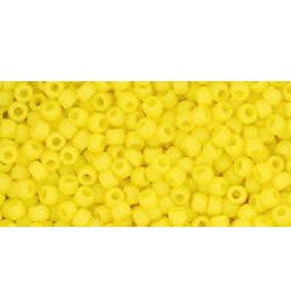 Toho 42fB 11 Toho Round 40g Op Dandelion Yellow Matte