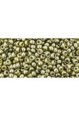 Toho 457 11 Toho Round 6g Transparent Green Tea Lustre
