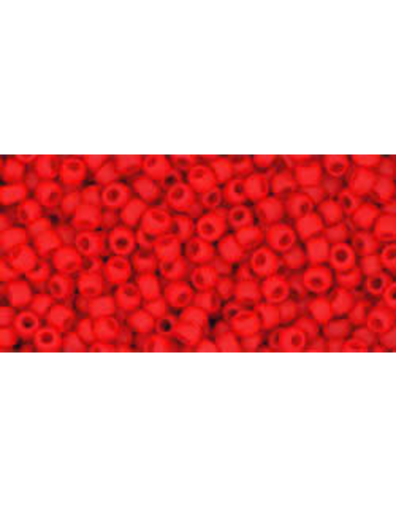 Toho 45afB 11  Round 40g Opaque Cherry Red Matte