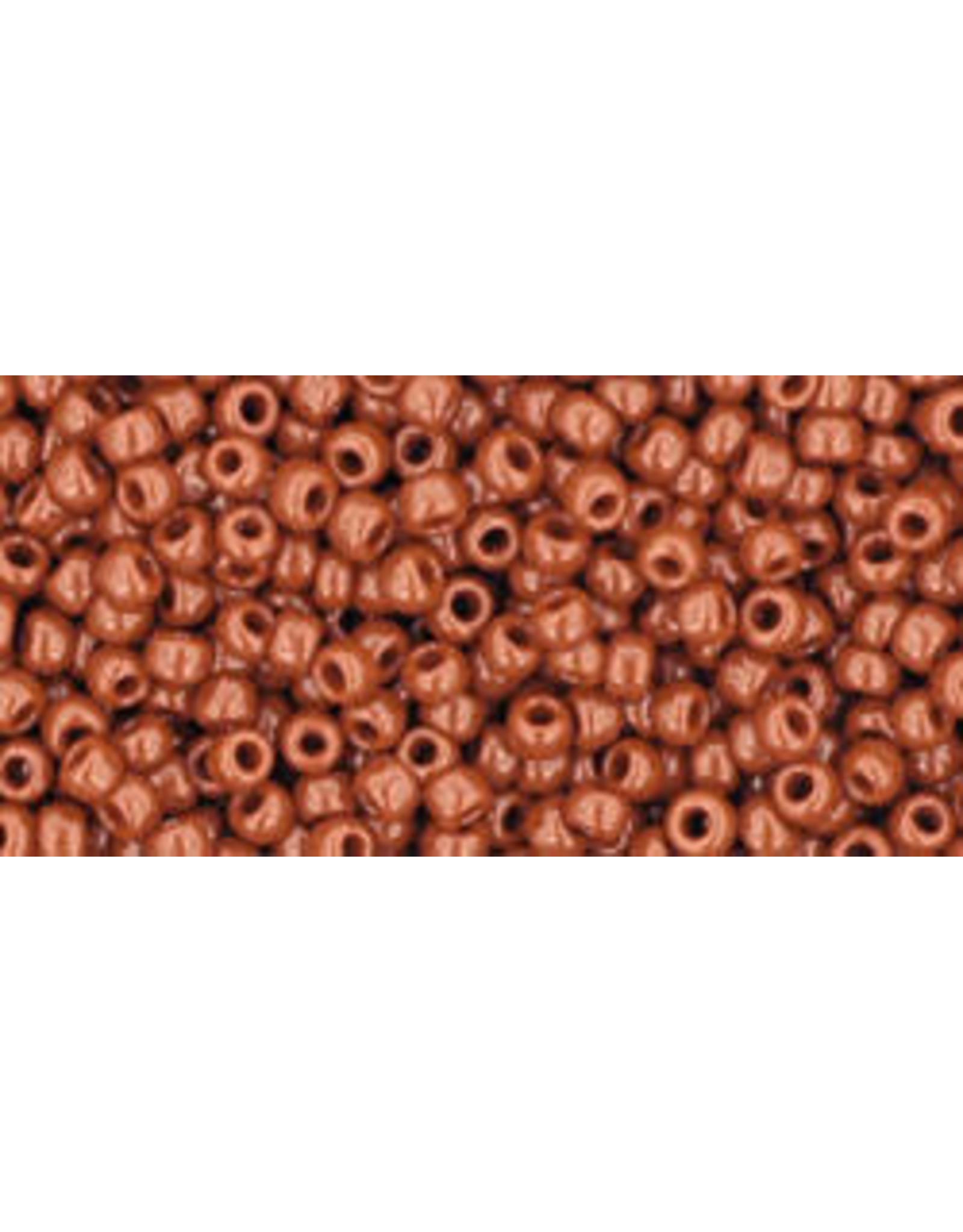 Toho 46LB 11 Toho Round 40g Opaque Light Brown Terra Cotta