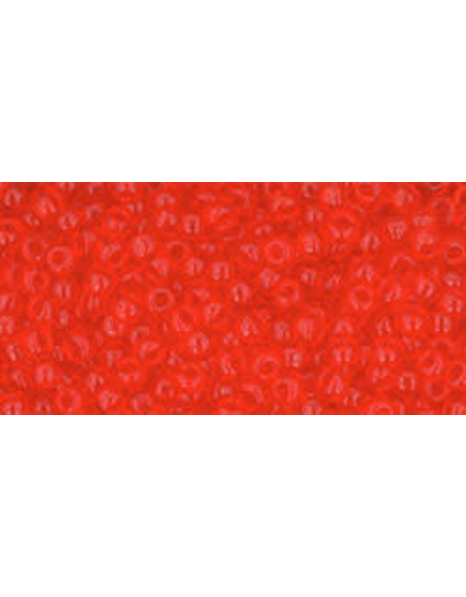 Toho 5 11  Round 6g Transparent Light Siam Red