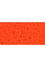 Toho 50 11 Toho Round 6g Opaque Dark Orange