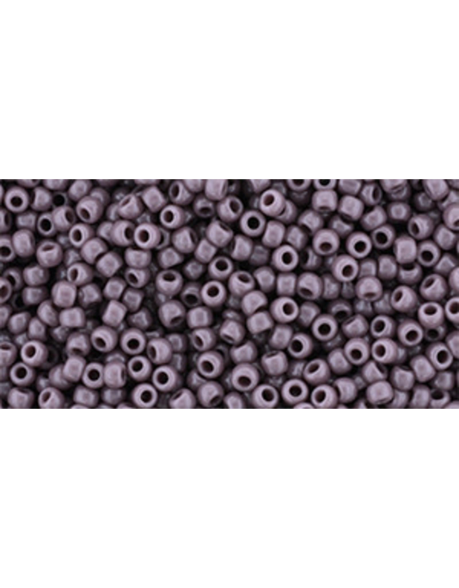 Toho 52B 11  Round 40g Opaque Mauve Purple