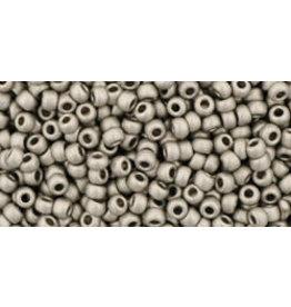 Toho 566 11 Toho Round 6gDark SIlver Metallic Matte