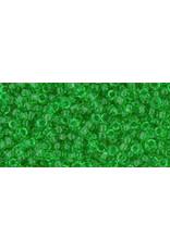 Toho 7B 11 Toho Round 40g Transparent Peridot Green